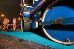 49.761 - Blauw asfalt